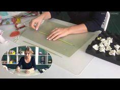 """Букет из зефирной глины """"Стебель и лист"""" ч8/ Flower clay craft tutorial """"Leaves' Part8 - YouTube"""