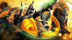 Hyrule Warriors Twilight Princess DLC pack - Golden Skulltula Illustration