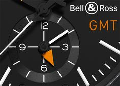 Bell & Ross BR 03-51 GMT CARBON - second time zone at 6 o´clock