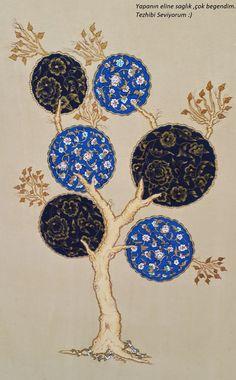 Tezhip Islamic Art Pattern, Pattern Art, Illumination Art, Persian Motifs, Iranian Art, Turkish Art, Arabic Art, Islamic Art Calligraphy, Arabesque