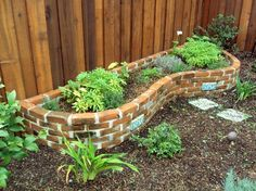 SPARE BRICKS FOR A RAISED GARDEN. Lots of houses have spare bricks in the crawlspace and elsewhere. Clean them up and use them to create a small raised bed for veggies, fruits, or flowers.