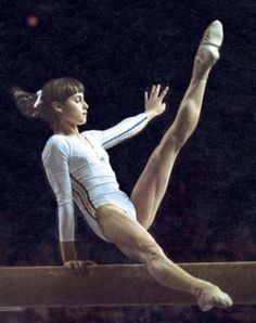 Nadia Comaneci - for my gymnasts - doesn't get much better than this girl