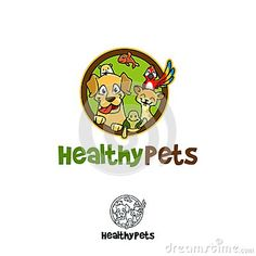 An Unique Healthy Pet Logo great for any purpose!