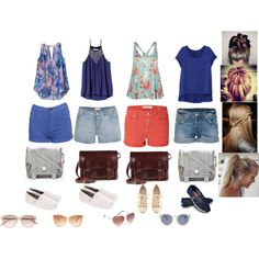 Summer Outfit Ideas for Teens | fashion look from April 2013 featuring Rag & Bone t-shirts, Rebecca ...
