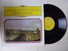 Mozart Piano Concertos No 12 & No 26 Geza Anda Vinyl LP DG 139 113