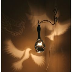 Serka gourd lamp - Icebird. Would love one with angels.