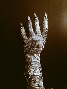 My attempt at The Countess glove from American Horror Story Hotel