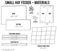 Small-Hay-Feeder---Materials