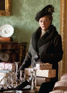 Dowager Countess {Maggie Smith}
