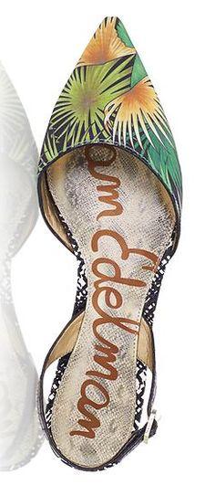 beautiful green motif shoes http://rstyle.me/n/vhpyspdpe