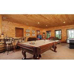 Escape to Blue Ridge Cabin sleeps 10