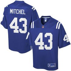 Tevin Mitchel Indianapolis Colts NFL Pro Line Player Jersey - Royal