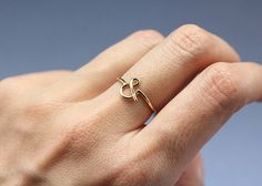 Ampersand & Wire Ring