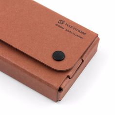Pasco Pen / Pencil Case by Midori - Tan from Bookbinders Online