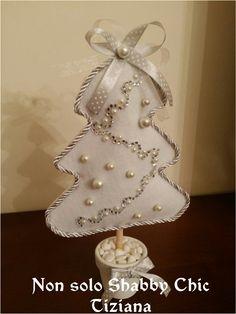 Addobbi natalizi - albero in feltro