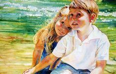 Jeannie Vodden ArtSlideshow « Album all « Gallery watercolor-portraits « » Online Gallery