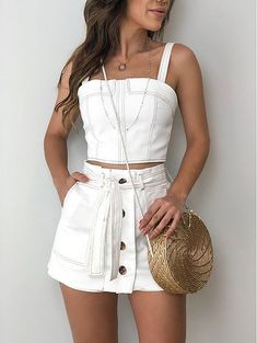 Best Vintage Outfits Part 16 Skirt Outfits, Chic Outfits, Trendy Outfits, Summer Outfits, Fashion Outfits, Vintage Outfits, Pinterest Fashion, Girl Fashion, Womens Fashion