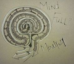 Mindfulness Tangled Labyrinth by Sadelle Wiltshire, CZT.