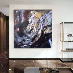 Abstract Acrylic Painting Large Wall Art Oil Paintings On image 2 Large Canvas Wall Art, Abstract Canvas Art, Extra Large Wall Art, Oil Painting On Canvas, Large Painting, Oil Paintings, Original Paintings, Original Art, Oversized Wall Art