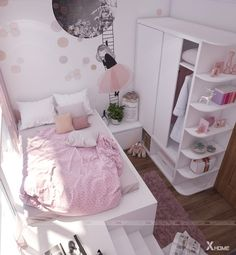 15 cute girls bedroom ideas for small rooms 00002