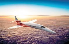 Aerion AS2: The New Supersonic Jet -- Aerion AS2, el nuevo «jet» supersónico.