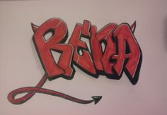 Rena's Blog^-^: My new Graffiti :D