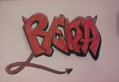 Rena's Blog^-^: My new Graffiti :D