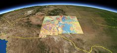 Virtual Geologic Tour of New Mexico, great site for info on the spectacular, and visible, geology of NM