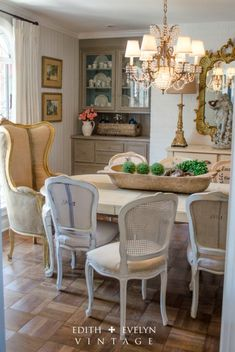 Dining Room Renovation In A 1970\'s French Country Ranch | Pinterest ...