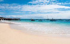 Kapverden: Insel Sal, Strand Santa Maria