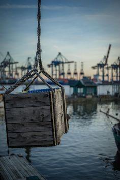 Das Seil hält im Museumshafen Oevelgönne | Bildschönes Hamburg