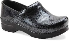 Dansko Professional in Black Arabesque Patent #Dansko #Clog $135.00  I love these! Always wanted a pair.