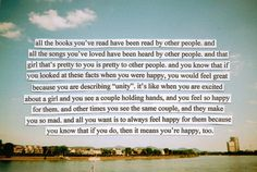 Perks of being a Wallflower. I have this exact passage underlined in my book.