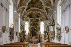 Pfarrkirche hl. Johannes der Täufer , Stams in Tirol | by thunderbird-72