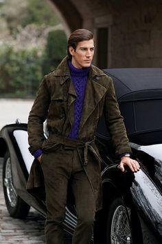 Ralph Lauren Purple Label Fall 2012 #Menswear