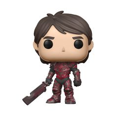 POP Television: Trollhunters - Jim (Armored - Red)