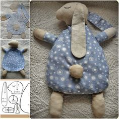 diy, tutorial, how to, instructions - DIY bunny plans