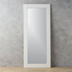 west elm Metal Framed Narrow Floor Mirror | Floor mirror, Metals and ...