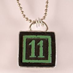 Number 11 Pendant by XOHandworks $20