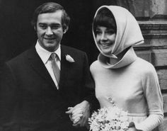 1969: Audrey Hepburn with her second husband, Italian psychiatrist Andrea Dotti   Photo: Express, Getty / 2010 Getty Images