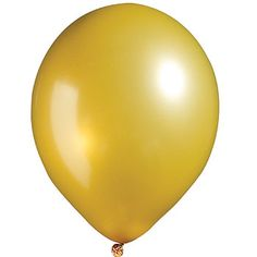 Our Gold Metallic Latex Balloons willadd style and flair to your event. Use these Gold Metallic Latex Balloons to decorate for Prom, graduations, and much more. Our 11 inch balloons come in packages of 12 and 100.