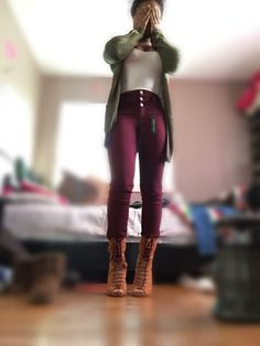 Shoes - wet seal - $30 Pants - Charlotte Russe - $30 Tshirt - forever 21 - $4 Cardigan - rue 21 - $27