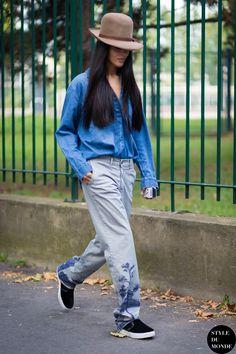 Gilda Ambrosio Street Style Street Fashion Streetsnaps by STYLEDUMONDE Street Style Fashion Blog