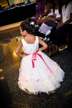Flower Girl Dress by Enchanted Bridal Shoppe at the Luxury Wedding Show