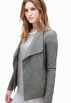 The Wynona Blazer from Danier Sports Luxe, Sporty Chic, High Fashion, Women Wear, Leather Jacket, Blazer, Spring 2015, How To Wear, Jackets