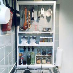 Pantry Storage, Kitchen Storage, Interior Architecture, Interior And Exterior, Home Organisation, Flat Ideas, Kitchen Images, Interior Decorating, Interior Design