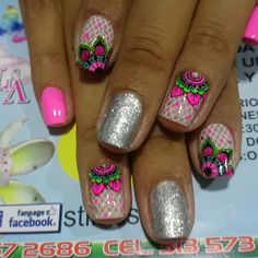 Mandala Nails, Beauty Brushes, Ale, Nail Designs, Nail Art, Toe Nail Designs, Nail Arts, Safe Room, Work Nails