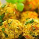 Experimente o bolinho de arroz light, feito ao forno com arroz integral. São deliciosos e vão surpreender os bolinhos de arroz light