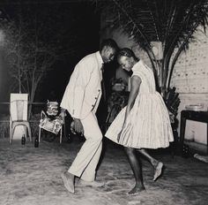 """""""When young people dance, they are spellbound by the music. In that atmosphere, people didn't pay attention to me anymore."""" – Malick Sidibé    Malick Sidibé's Nuit de Noël is available in our Photographs Selected by James Danziger"""