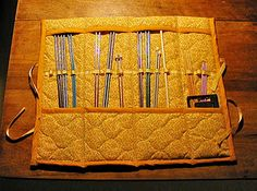 Found the perfect Mothers Day gift! DIY knitting needle case